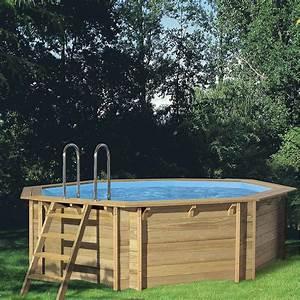 Piscine Bois Ronde : piscine hors sol bois weva octo 530 procopi ronde diam 5 3 m leroy merlin ~ Farleysfitness.com Idées de Décoration