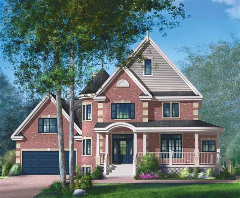 Brick Victorian House Plan