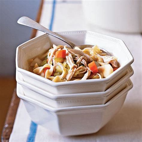 cooking light chicken noodle soup chicken vegetable soup 100 easy chicken recipes