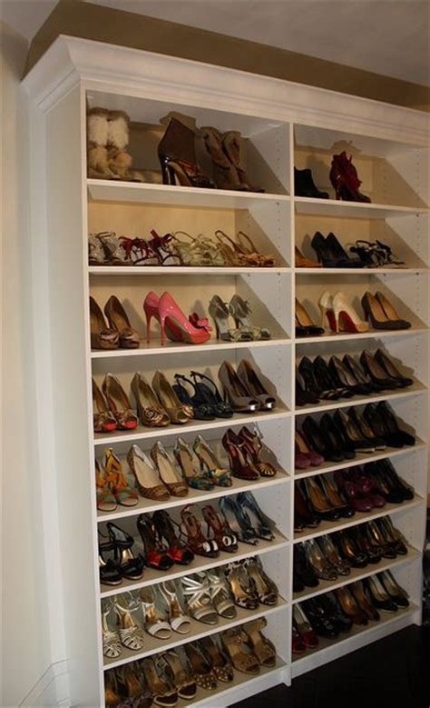 shoe racks for closets casual cottage