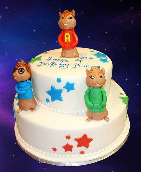 17 best images about cakes chipmunk on pinterest