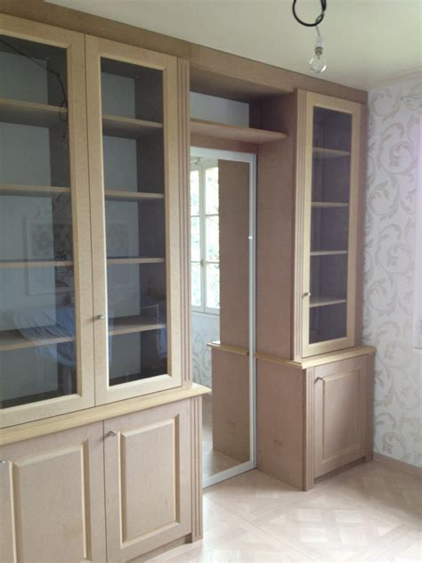 meuble cuisine vitré les bibliothèques vitrées sur mesure