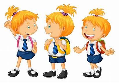 Uniform Vector Illustration Clipart Children Boy Vecteezy