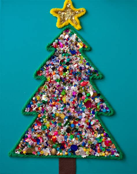 christmas tree crafts  kids crafts  worksheets