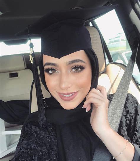 hijab style  makeup  graduation hijab fashion