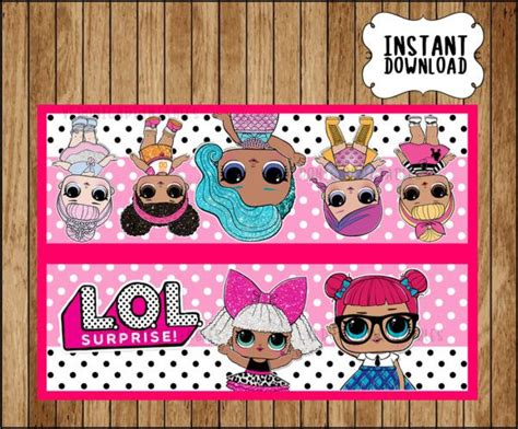 lol surprise dolls centerpieces lol surprise printable