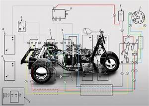 Harley Davidson Golf Cart Wiring Diagrams 1963 To 1966 De