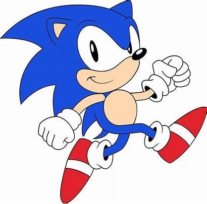 Sonic Svg Classic Hedgehog 2d Speedy Walk