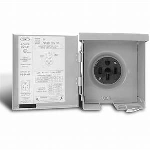 Connecticut Electric U00ae 30 Amp Rv Power Outlet With 30 Amp 1