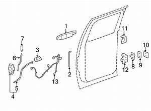 Chevrolet Silverado 2500 Hd Door Wiring Harness  Rear