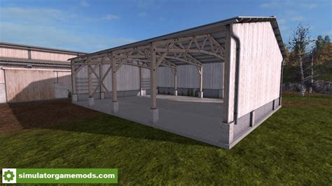 two sheds fs17 placeable two sheds v1 0 0 0 simulator mods