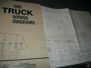 1992 Ford Aerostar Wiring Diagrams Oem Ford Manual Set