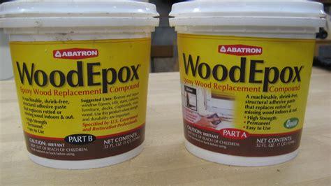 minwax epoxy wood filler  woodworking