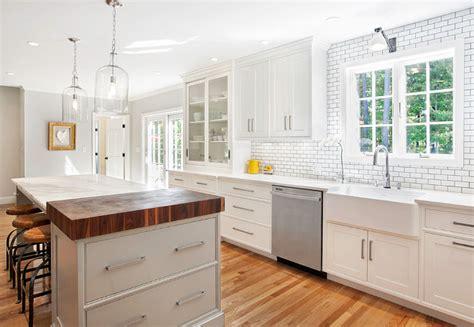 Gray And Yellow Kitchen Ideas - modern farmhouse kitchen design home bunch interior design ideas