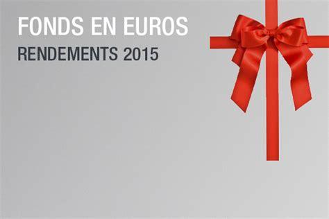 Rendement Assurance Vie 2015 by Suravenir Accueil