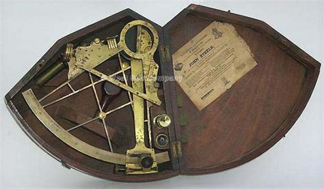 Old Boat Navigation Tools by West Sea Co Evolution Of The Sextant