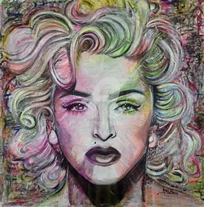 Peinture Visage Femme : portrait peinture contemporaine bt64 jornalagora ~ Melissatoandfro.com Idées de Décoration