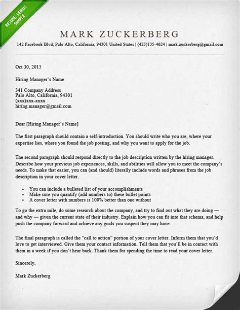 How To Write A Resume Cover Letter by Cover Letter Sles And Writing Guide Resume Genius