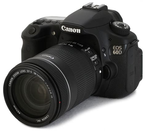 Canon 60D Review: Full Review - Optics