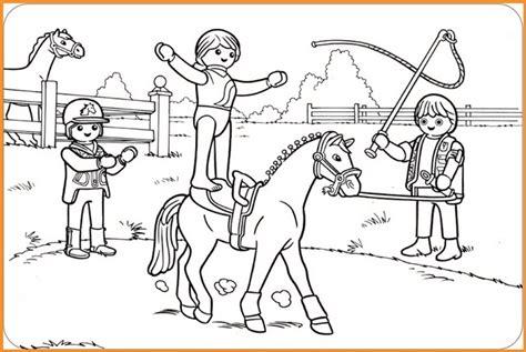 Ausmalbilder Pferde Playmobil