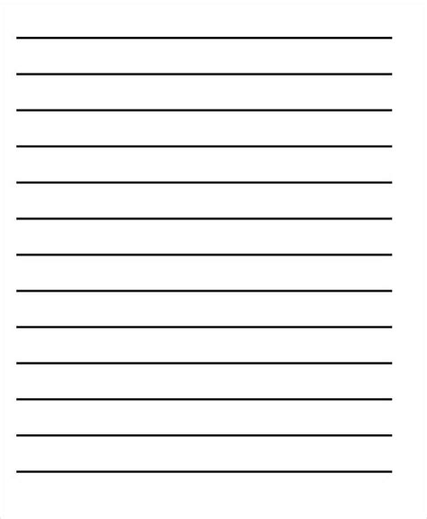 writing lines template 22 lined paper templates free premium templates