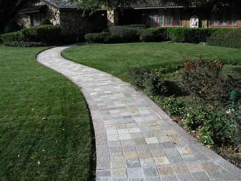 home walkways awesome well made patio pavers home depot exterior homes pinterest walkways stone walkway
