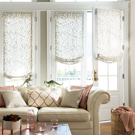 Fabric Shades relaxed fabric shades