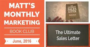 yoast meme matts marketing book club the ultimate sales With the ultimate sales letter