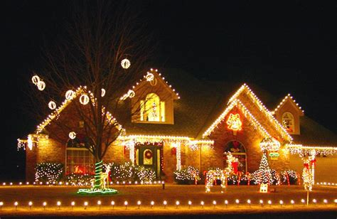 mesmerizing outdoor christmas lighting ideas
