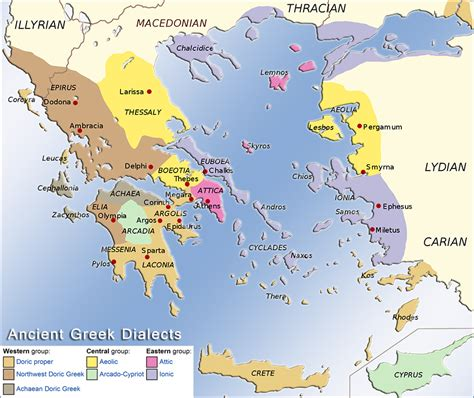 historical maps   ancient greece