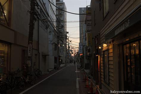 tokyo cityscape yutenji halcyon realms art book