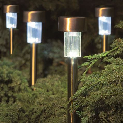 gardman pack of 10 marker solar lights