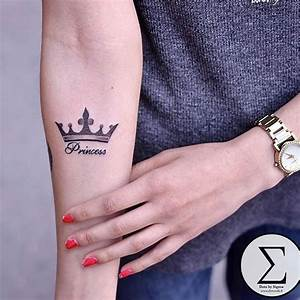 Princess Crown Tattoos - Tattoo Collections