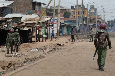 Kenyan Streets Calmer, But Political Standoff In New