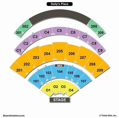 Seating Place Chart Daily Dailys Charts Tickets