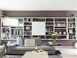Bibliothèque Murale Design : biblioth ques design nos 11 solutions pr f r es elle d coration ~ Teatrodelosmanantiales.com Idées de Décoration