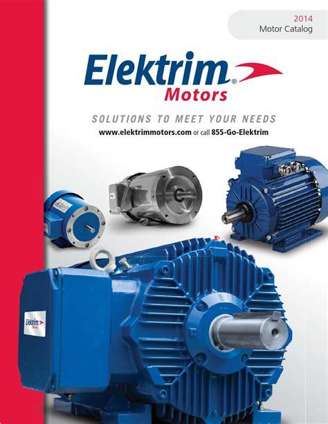 Electric Motor Catalogue by Elektrim Motor Electric Motor 2014 Catalog By Toolmex