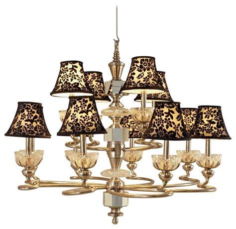 maitland smith ls lighting fixtures chandeliers maitland smith velvet shade cut chandelier