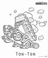 Dinotrux Coloring Pages Ton Printable Truck Coloringonly Ankylosaurus Dump sketch template