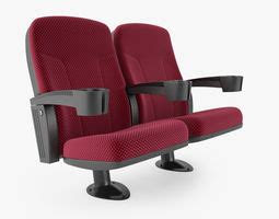 theater seat 3d models cgtrader