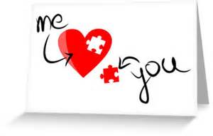 Missing Puzzle Piece Heart