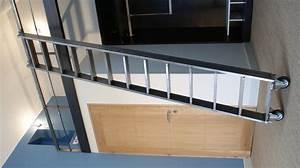 Echelle Pour Escalier : chelle coulissante en m tal mont e sur roue pour ~ Melissatoandfro.com Idées de Décoration