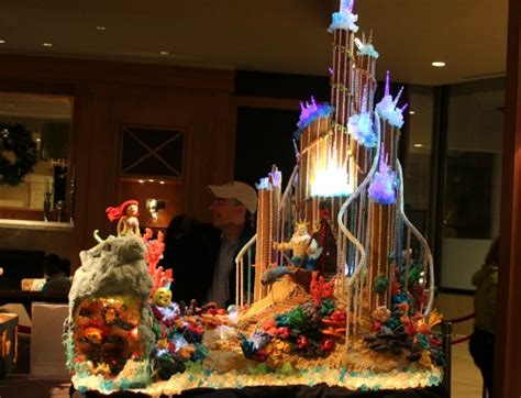 seattle sheraton gingerbread houses   mermaid