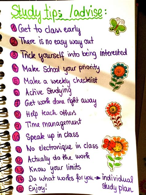 Studyblr  15 Study Tips Cbyj