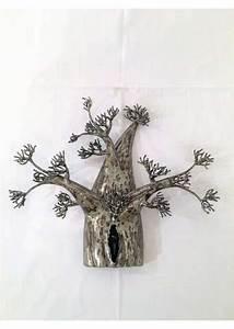 Déco Fer Forgé Mural : sculpture metal baobab mural fer forge ~ Teatrodelosmanantiales.com Idées de Décoration