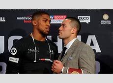 Anthony Joshua Joseph parker boks maçı CANLI İZLE