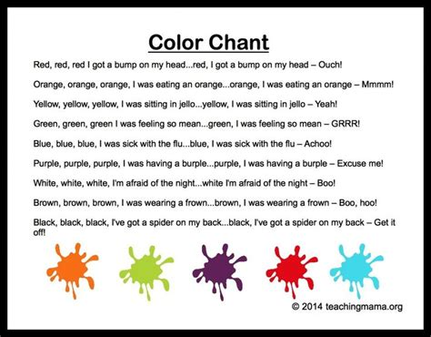 songs about color 10 preschool songs about colors colors color songs