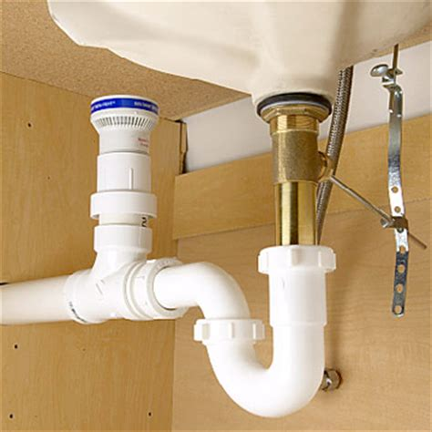 kitchen sink backs up into other side manufactured home plumbing drainage and ventilation issues