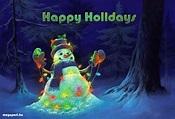 Happy Holidays (animated eCard) | Christmas paintings ...