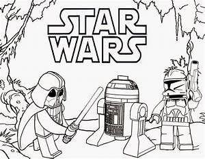 Star Wars - Lego - Desenhos para Colorir